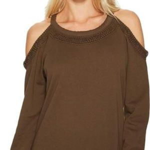 Joe's Jeans Women's Cold Shoulder French Terry